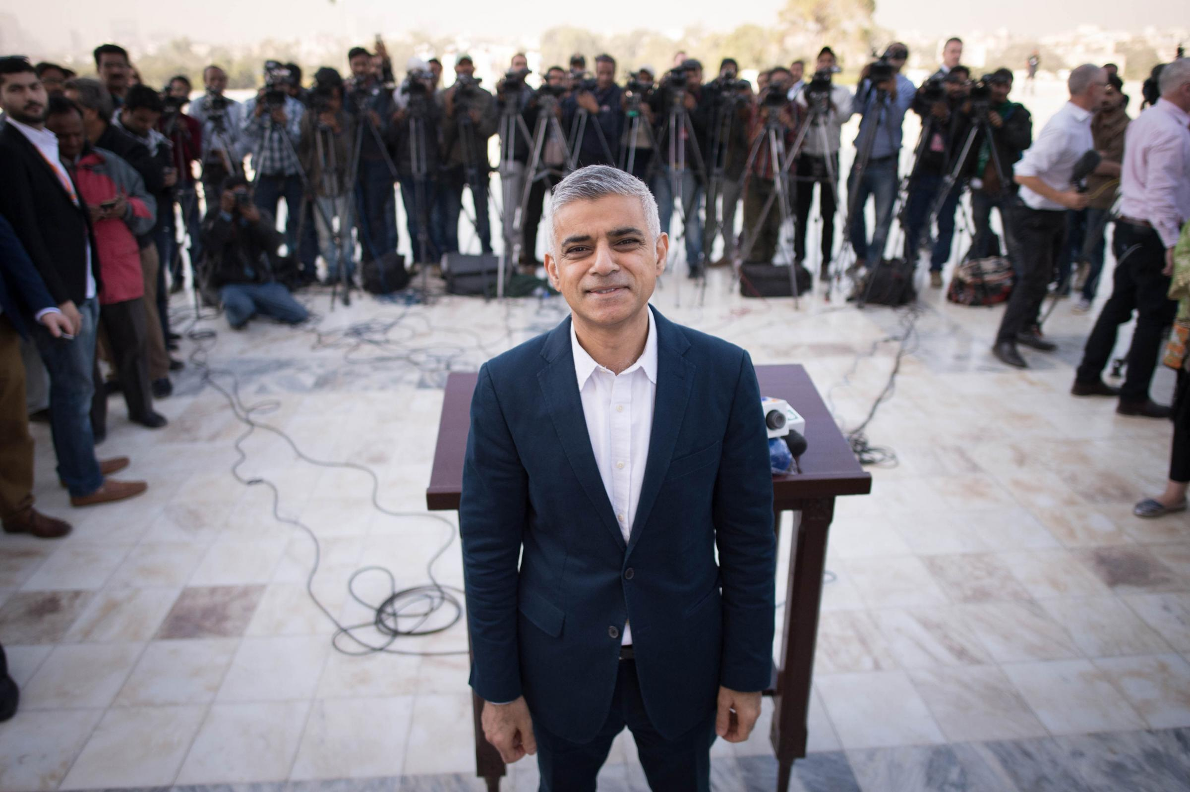 London Mayor Sadiq Khan speaks to business leaders, youth at Habib University