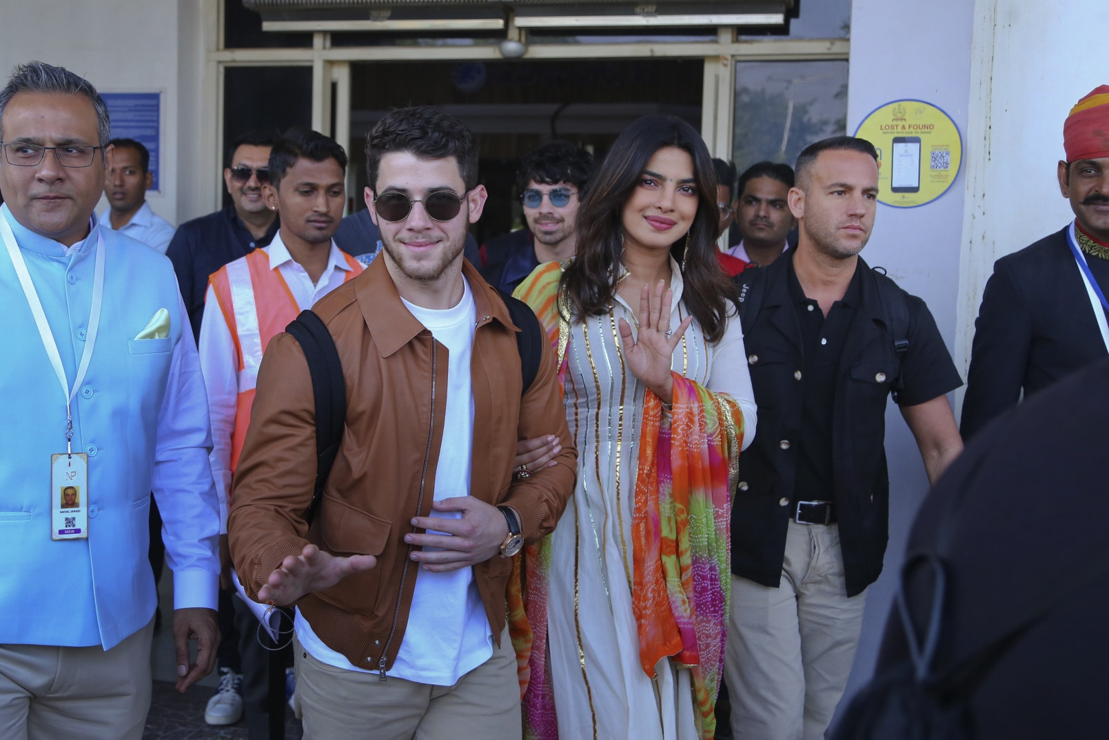 Priyanka Chopra and Nick Jonas share photos of their wedding festivities