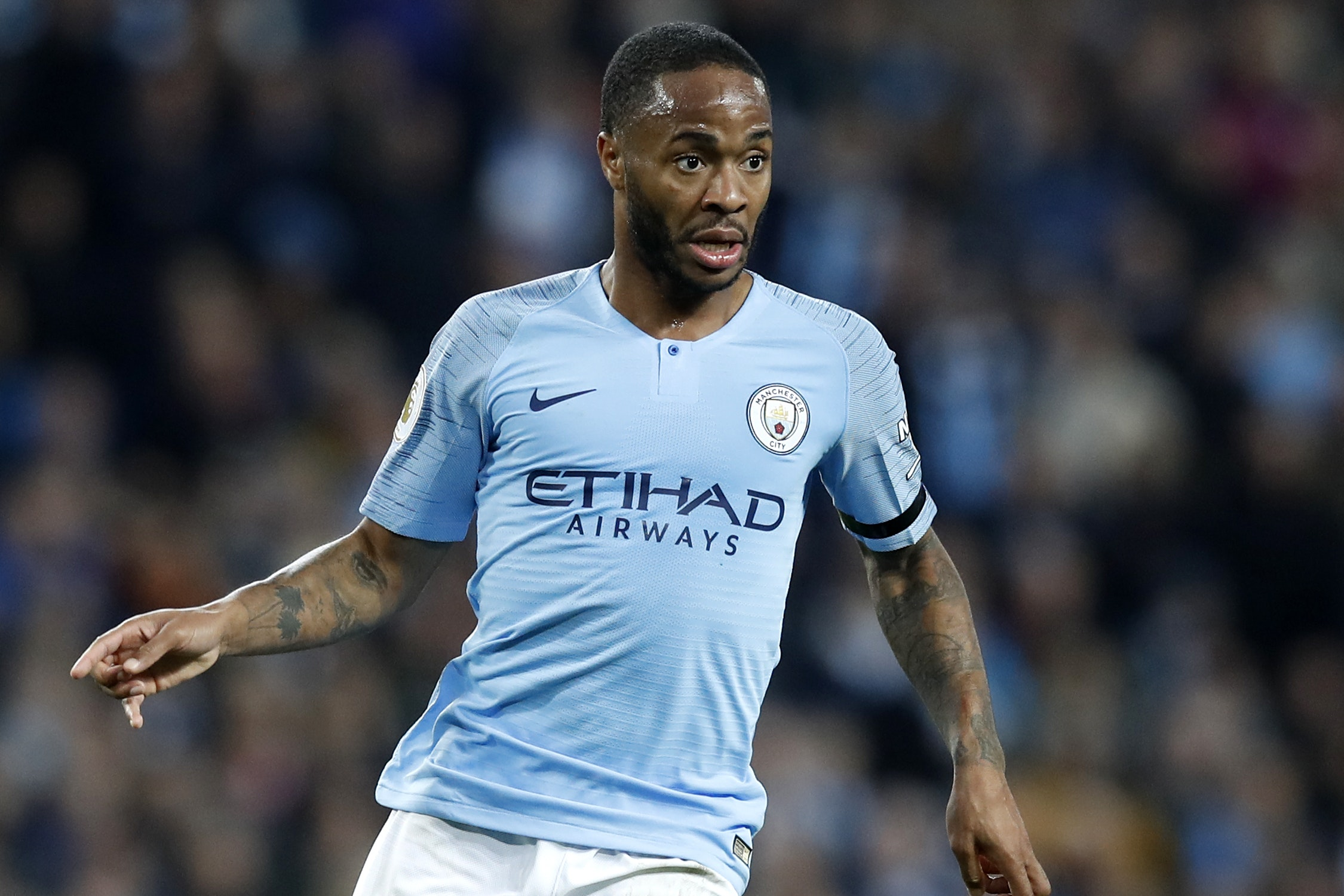 Man City forward Sterling named Premier League player of the month